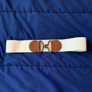 Xhiliration White and Brown Belt L